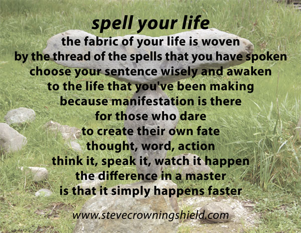 spell your life poem